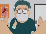 O professor Garrison faz mudança de sexo